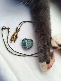 Brass Gyan Mudra Necklace