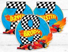 Hot Wheels Cake, Hot Wheels Party, Race Car Party, Race Cars, Imprimibles Hot Wheels, Car Centerpieces, Festa Hot Wheels, Christian World, Photo Booth Props