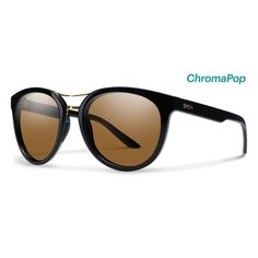 Smith Sunglasses Bridgetown Black ChromaPop Polarized Brown