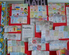Math Probability vocabulary - math bulletin board idea