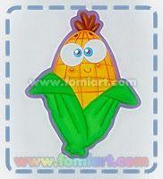 Las Frutas                    Elote                         Manzana              Naranja  ... Paper Crafts, Kawaii, Drawings, Metal Art, Diy, Posters, Angel, Colorful Drawings, Refrigerator Decoration
