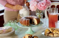 Blueberry-Buttermilk Bundt Cake - Bon Appétit