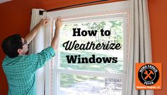 Wanna learn how to weatherize windows with plastic film insulation? You might since it lowers heating bills. Plus, I've got a pretty awesome bonus tip!!