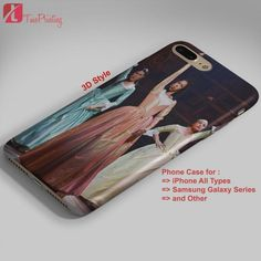 Hamilton Broadway Schuyler Sisters - Personalized iPhone 7 Case, iPhone 6/6S Plus, 5 5S SE, 7S Plus, Samsung Galaxy S5 S6 S7 S8 Case, and Other