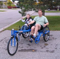 RickSycle Inc. is your one and only source for RickSycles in Strathroy, ON. We offer a full range of cycling products, which include something for people of every age and need, so that everyone can enjoy the health benefits and all-around fun that cycling can bring to their lives. We offer recumbent and adult tricycles, recumbent and tandem bicycles and both bicycles and tricycles for disabled children so that you can take your whole family cycling, no matter what their individual needs may…
