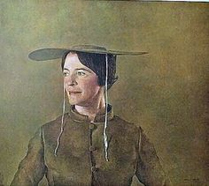 My mother had this painting and as a kid I always thought she was someone in the family. Andrew Wyeth Art, Jamie Wyeth, Brandywine River, Claudio Bravo, Nc Wyeth, Chadds Ford, Best Portraits, Art For Art Sake, Portrait Art