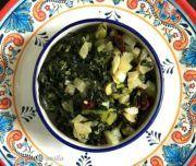 Mooli Upkari Recipe/White Radish Stir Fry with Greens