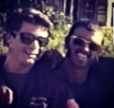George and his first love Anselmo