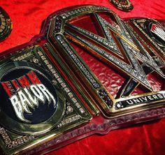 The new Universal Championship Belt Finn Balor