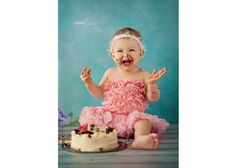 It is a fantastic way to celebrate birthday. Beautiful Moments, Cake Smash, In This Moment, Birthday, Photography, Cake Smash Cakes, Birthdays, Photograph, Photo Shoot
