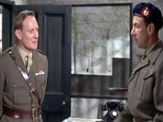 """""""Cockelshell Heroes,"""" 1955, Trevor Howard and Jose Ferrer."""