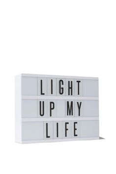 Lighten up with the famous Typo light box!   #typolightbox