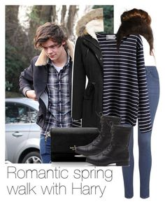 """REQUESTED: Romantic spring walk with Harry"" by style-with-one-direction ❤ liked on Polyvore featuring Topshop, WithChic, Kate Spade, OneDirection, harrystyles, 1d and harry styles one direction 1d"