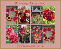 marieke nolsen Dahlia, Floral Wreath, Wreaths, Blog, Home Decor, Gladioli, Homemade Home Decor, Flower Crowns, Door Wreaths