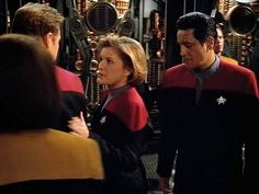 Subtle Chakotay is subtle...