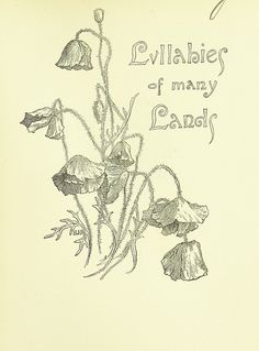 Year: 1894 - Source: Lullabies of Many Lands collected and rendered into English verse by A. Strettell. With ... illustrations, etc - Provenance: The British Library - Licence: Pubic Domain