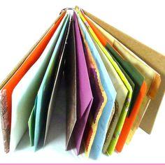 DIY Creative Art Journal kit Huge Paper Destash over 100 creative ephemera pieces comes with the blank journal