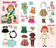 Paper Dolls...I Spent Hours Playing With These