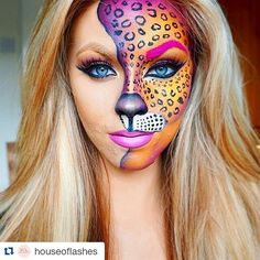 Colourful Leopard