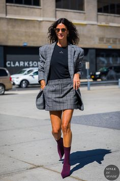 New York SS 2018 Street Style: Hedvig Sagfjord Opshaug