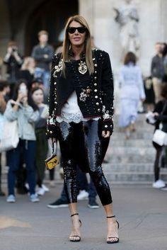 Paris Fashion Week SS17 Street Style: Day 7 - October 2016