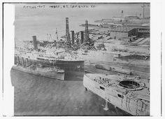Fitting - out wharf - N.Y. Shipbuilding Co. (LOC)