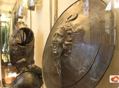Check out this shield at the National Museum of the Bargello in Florence.