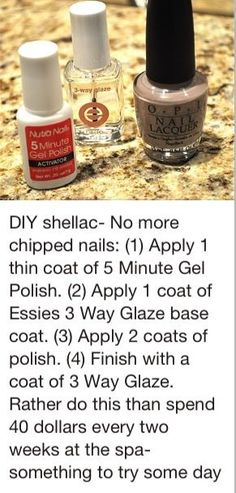 Shellac your nails at home Essie, Trendy Nails, Cute Nails, No Chip Nails, Ideas Geniales, Hair Skin Nails, Tips & Tricks, All Things Beauty, Nail Tips