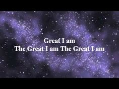 i love singing this at church...this is what Heaven will be like. Singing as one to the Great I Am
