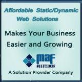 MAF Solutions Online Marketing, Social Media Marketing, Search Engine Optimization, Online Jobs, Business, Store, Business Illustration