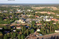 Kuva: Kauhava - Kauhava ilmakuva taajama kaupunki kylänraitti Pohjanmaa kesäilta - Kuvatoimisto - Photostock Vastavalo.fi http://www.vastavalo.fi/index.php