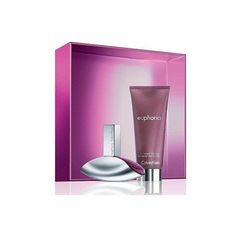 Euphoria By Calvin Klein for Women 2 Piece Gift Set: 3.4 Oz Eau De Parfum Spray + 3.4 Oz Sensual Skin Lotion by Calvin Klein. $54.99. Packaging for this product may vary from that shown in the image above. Euphoria Perfume for Women 2 Pc. Gift Set ( Eau De Parfum Spray 3.4 Oz + Sensual Skin Lotion 3.4. Oz ). We offer many great sales and discounts making this fragrance cheaper than at department stores.. 2 Pc. Gift Set ( Eau De Parfum Spray 3.4 Oz + Sensual Skin Lotion 3.4. Oz ...