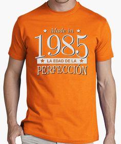 Camiseta Made in 1985 La edad de la perfección