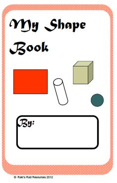 2D & 3D shape Booklet.read more at http://www.classroomfreebiestoo.com/2012/04/finding-shapes-at-home.html