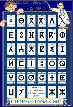 Amazigh alphabet