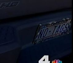 """$20,000 in tickets. Let's ALL order vanity plates that say, """"No-Tags"""". From Washington, D.C. (surprise!)"""