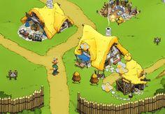 Baut euer eigenes Dorf auf