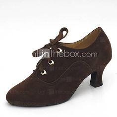 [USD $ 24.99] Women's Suede Modern / Ballroom Dance Shoes(More Colors)