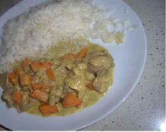 Pollo allo yogurt e curry. Bimby. (Io NON ci metto il limone.)