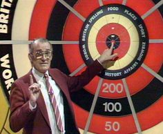 Bullseye with the late Jim Bowen. We had a Bully doll - Rerun 80s Shows, 80s Tv, Vintage Tv, My Childhood Memories, Teenage Years, Classic Tv, Best Day Ever, Nostalgia, The Past