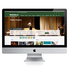 Wordpress, responsive, Facilities search form, Map, news, blog, IT - EN