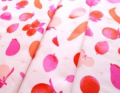 COTTON+STEEL  Fruit Dots 0026-2 Fruit Stand Pink