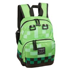 Minecraft Creeper Mini Backpack -- This is an Amazon Affiliate link. Want additional info? Click on the image.