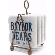 Baylor University Vintage Coasters // #SicEm