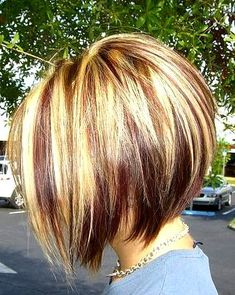 Stacked Bob Haircuts on Pinterest