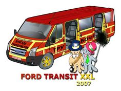 Outline Pictures, Car Pictures, Ford Transit, Brickwork, Projects For Kids, Colored Pencils, Markers, Coloring, Printing