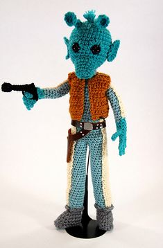 Happy #StarWars Day! May the Fourth Be With You When You #Knit and #Crochet ... 30+ Projects #StarWars #MayTheFourth