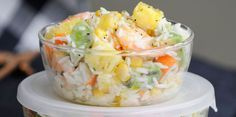 Current cooking: all your recipes: recipe on Cuisine Actuelle Salade hawaienne Hawaiian Salad, Salad Recipes, Healthy Recipes, Summer Recipes, Chefs, Food Inspiration, Love Food, Entrees, Food And Drink