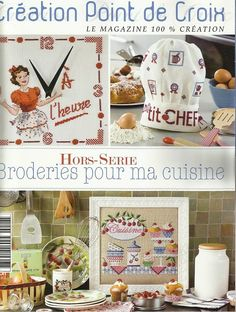 Cross Stitch Creations - The only magazine with original French designs Cross Stitch Magazines, Cross Stitch Books, Cross Stitch Charts, Cross Stitch Patterns, Cross Stitching, Cross Stitch Embroidery, Cross Stitch Collection, Book And Magazine, Le Point