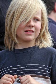 awesome 25+ Charming Boys Long Hairstyles - For Your Kid Check more at http://machohairstyles.com/adorable-boys-long-hairstyles/